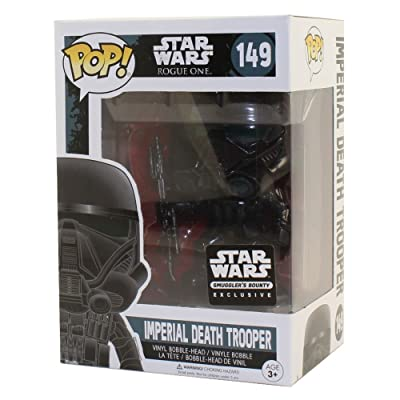 Funko POP! Star Wars Rogue One Imperial Death Trooper #149 Exclusive Vinyl Figure: Toys & Games