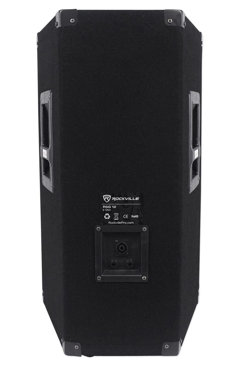 "Amazon.com: Rockville RSG12 12"" 3-Way 1000 Watt 8-Ohm Passive DJ/Pro Audio  PA Speaker: Musical Instruments"