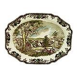 Johnson Brothers Friendly Village 19.5-Inch Turkey Platter