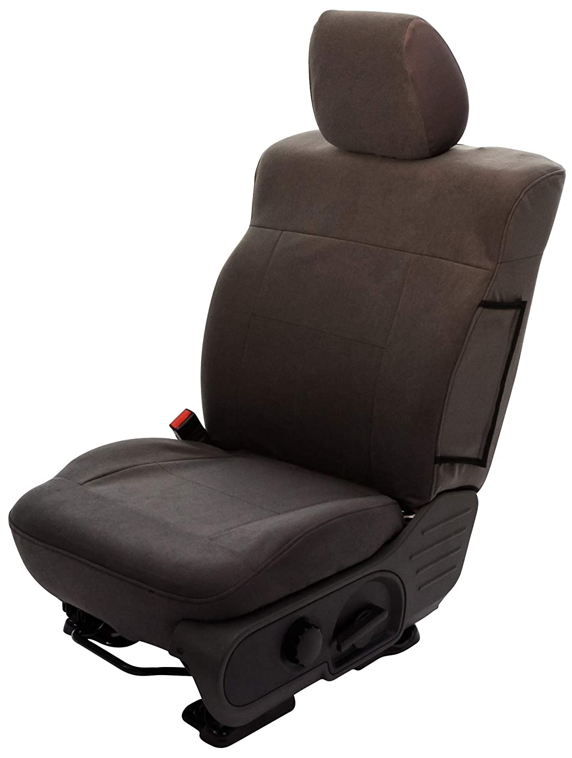 Saddleman S 219916-14 Gray Custom Made Rear Bench with Adjustable headrests Seat Covers