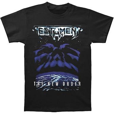 Amazon.com: Testament Men's The New Order T-shirt Black: Music Fan ...