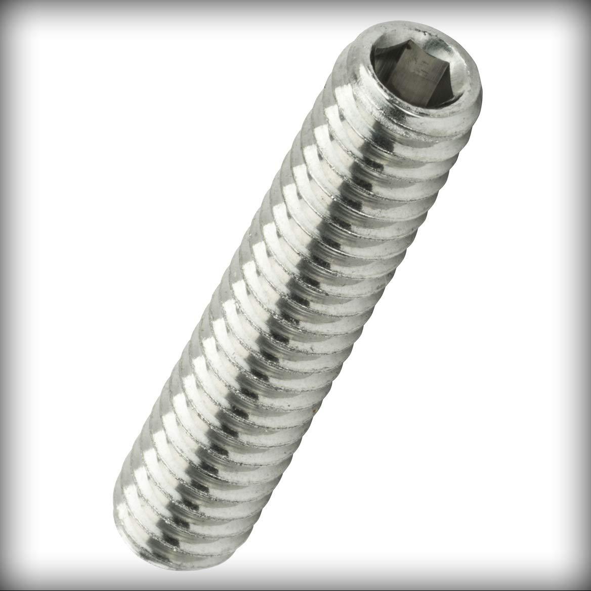 8-32 x 1-inch Socket Set Screws Set Allen Drive Cup Point Stainless Steel Pack of 1000 Warranity by Pr-Merchant
