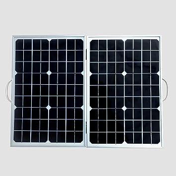 Rlorie 40W Cargador Panel Solar,Módulo Solar monocristalino ...