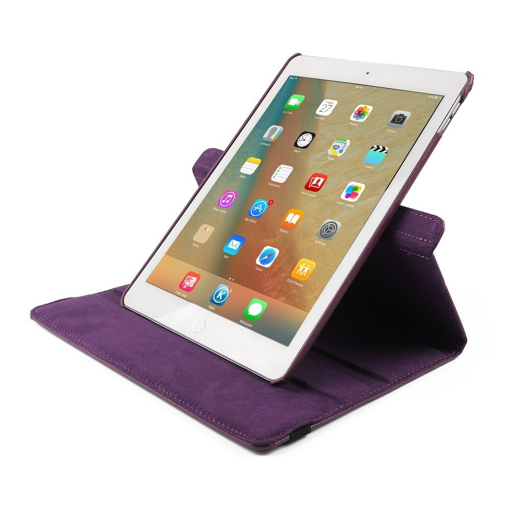 79 Inch Ipad Case Mini 2elecfan Pu Leather Dot Cover Smart Folio Rotating 360 Degree For 2 3 4