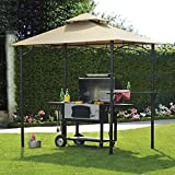 Sunjoy Replacement Canopy Set for BBQ Gazebo