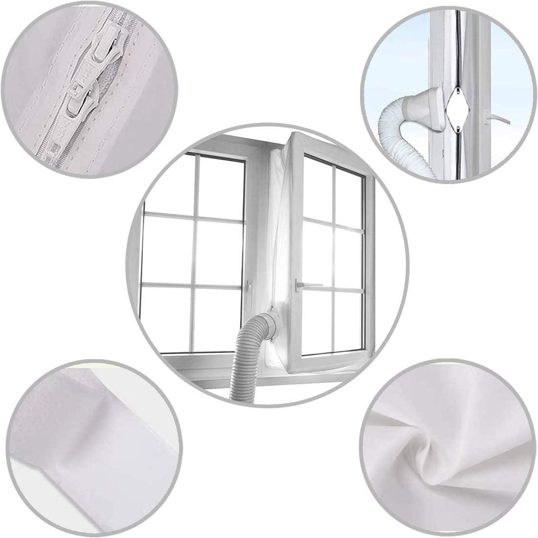 Calfeutrage De Fen/êtres pour Climatiseur Portatif 400cm Joint de Fen/être pour La Climatisation Mobile Tissu De Calfeutrage De Fen/êtres