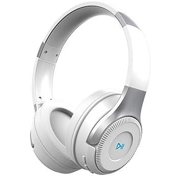 Zealot Auriculares HiFi estéreo inalámbricos con Bluetooth en la oreja, plegables, con control táctil