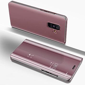 Uposao Espejo Enchapado Flip Cover Funda Samsung Galaxy A6 ...