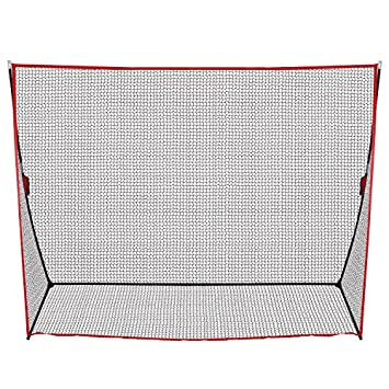 Smartxchoices 10×7 FT Golf Practice Net with Frame Carry Bag Tri-Turf Golf Hitting Mat for Golf Practice Hitting Driving Pitching Training, Portable for Backyard Indoor Outdoor