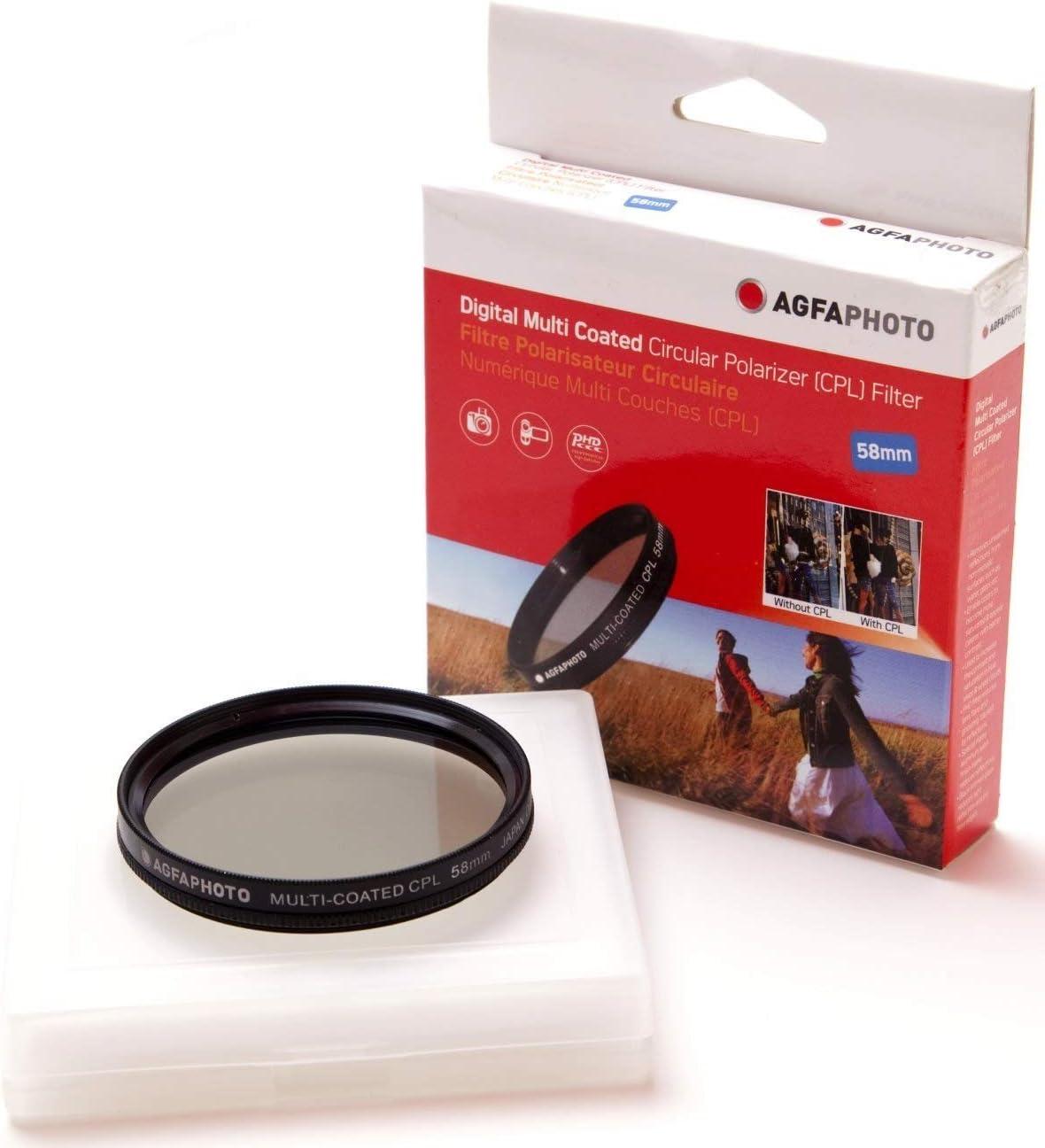 58mm New Circular Polarizer CPL Filter for Canon EOS Rebel SL3