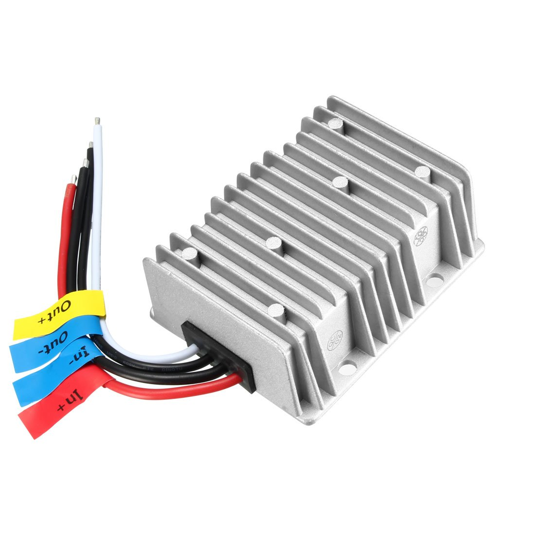 uxcell New BIG-Size Voltage Converter Regulator DC/DC DC 12V Step-up to DC 24V 15A 360W Boost Transformer Waterproof
