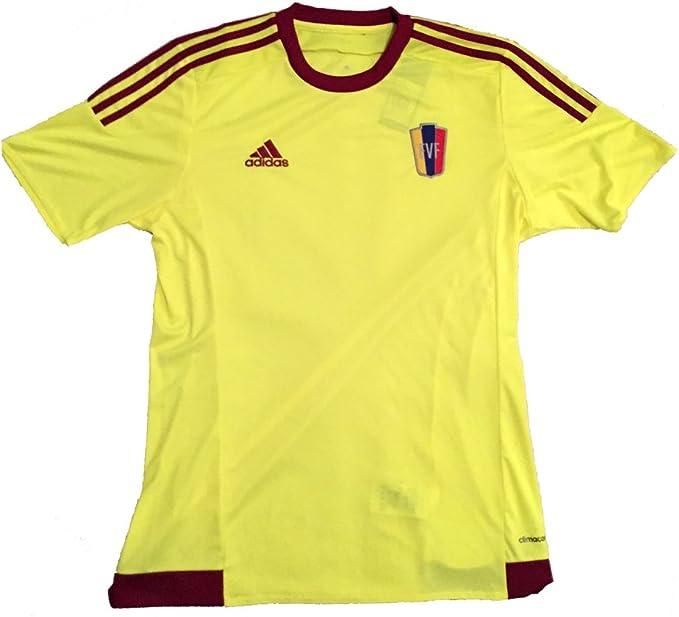 adidas Venezuela FVF Copa América 2015 Away Jersey, Amarillo: Amazon.es: Deportes y aire libre