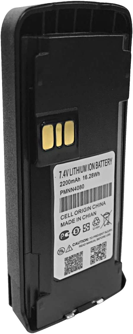 PMNN4080 Walkie Talkie Battery Replacement for Motorola CP185 EP350 TK3160 TK2168 TK3168 TK2170 TK3170 TK2173 TK3173 TK2360 TK3360 NX220 NX320 Portable Radio: Home Audio & Theater