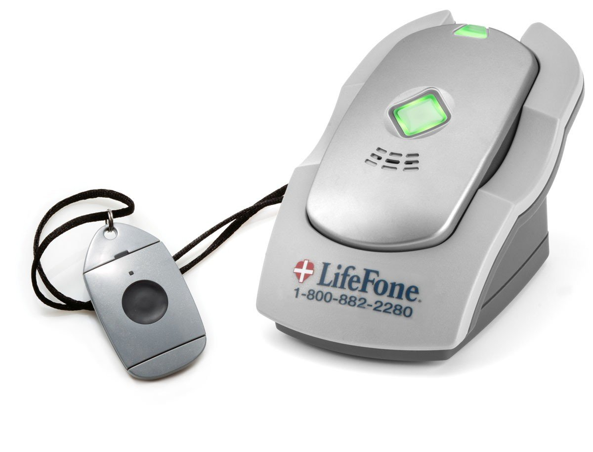 LifeFone - At Home and On the Go Cellular Voice in Pendant System with Fall Detection with 1 Year Plan by LifeFone (Image #3)