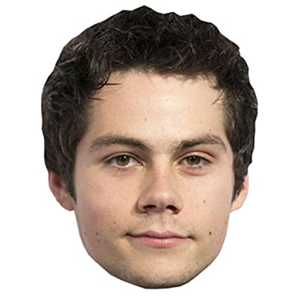 Amazon Dylan Obrien Celebrity Mask Card Face And Fancy Dress