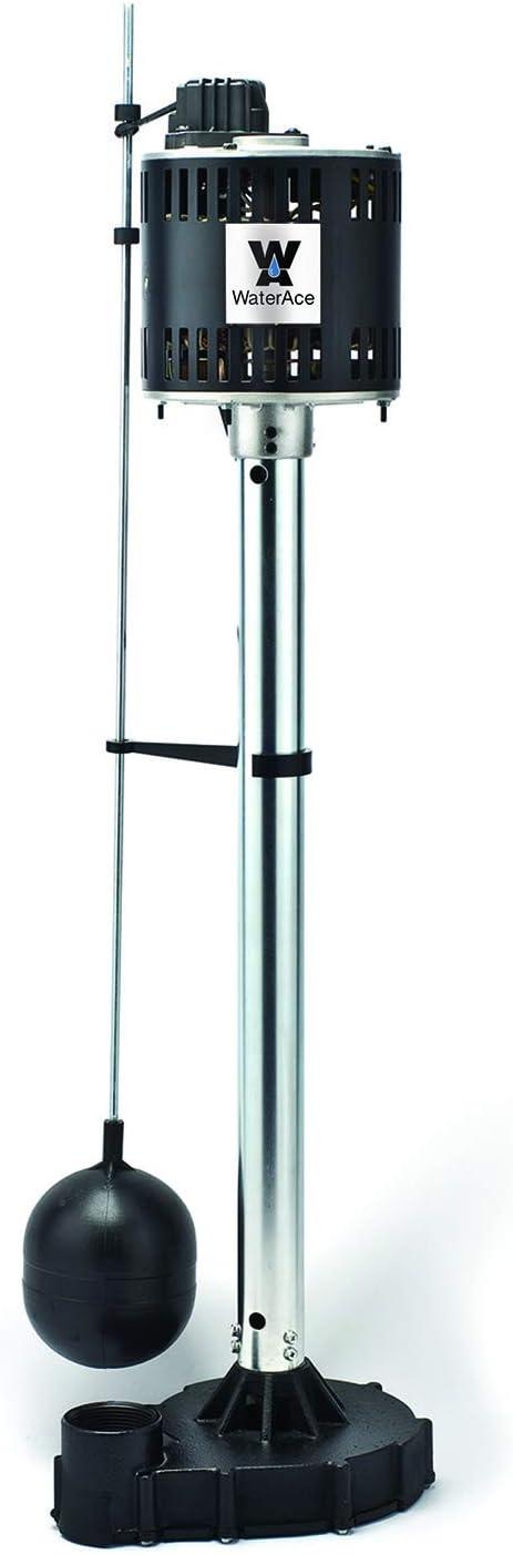 WaterAce WA50CPED Pedestal Pump, Black