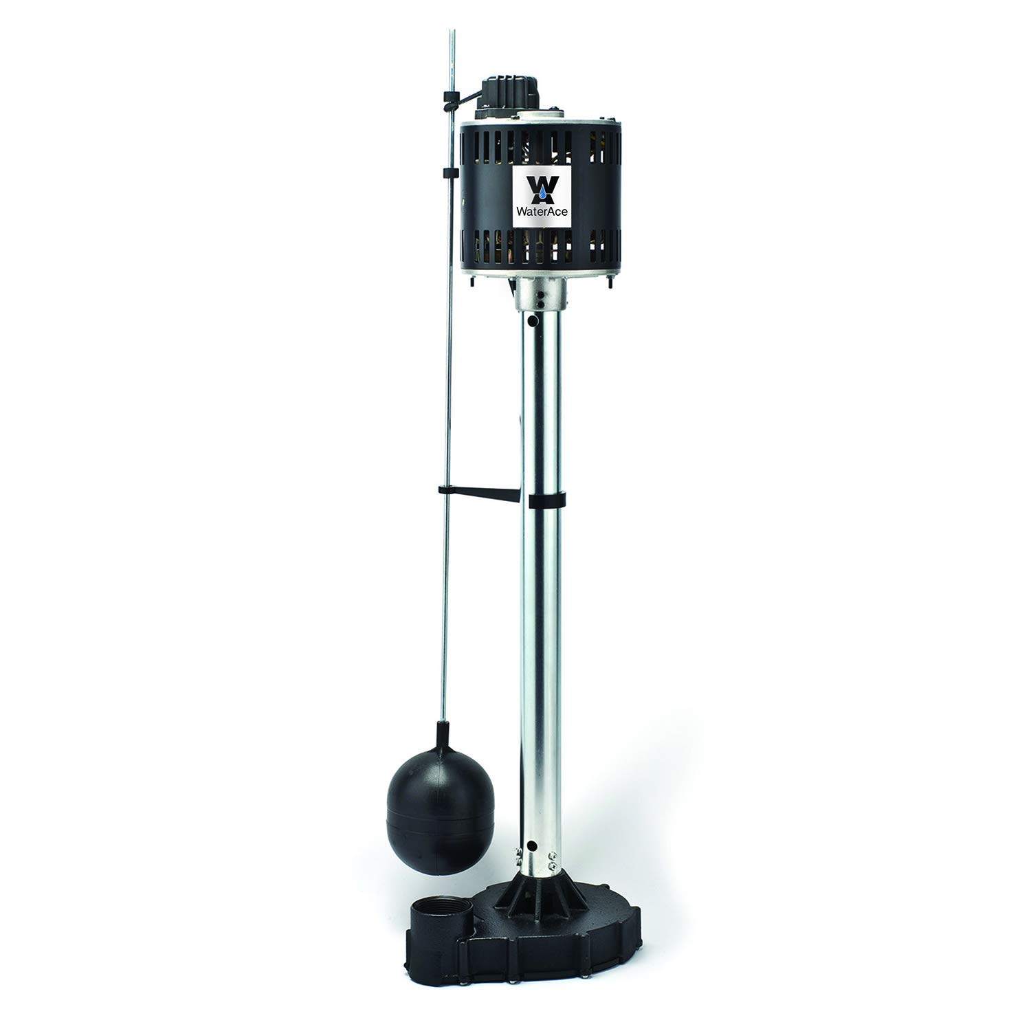 WaterAce WA50CPED Pedestal Pump, Black by WaterAce
