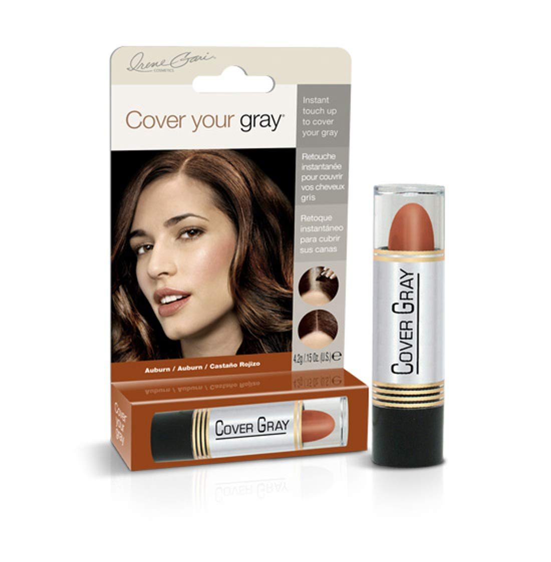Cover Your Gray Hair Color Touch-up Stick - Auburn (Pack of 6)