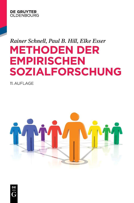 Methoden der empirischen Sozialforschung (De Gruyter Studium) Gebundenes Buch – 21. August 2018 Rainer Schnell Paul B. Hill Elke Esser De Gruyter Oldenbourg