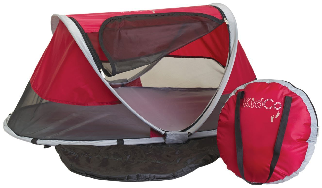 KidCo Peapod, Cranberry - Best Toddler Travel Bed
