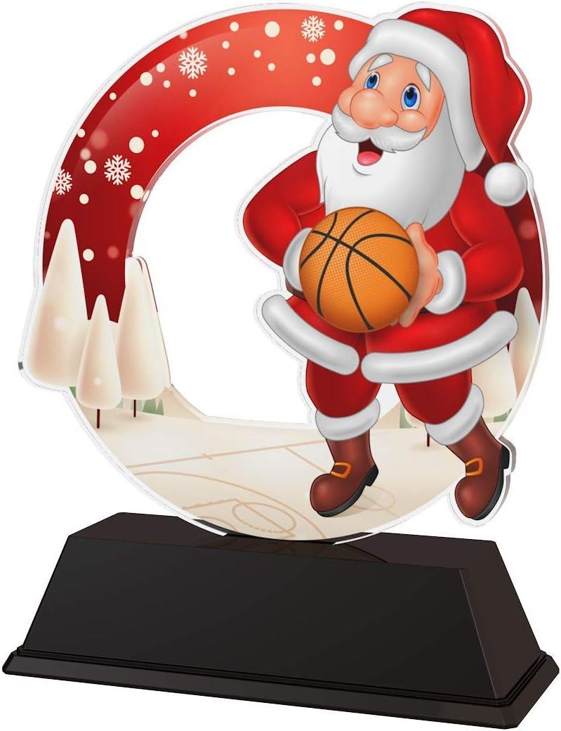 Trophy Monster - Medalla de Papá Noel de Baloncesto (10 Unidades ...