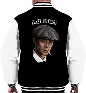Cloud City 7 Peaky Blinders Tommy Shelby Portrait Men's Varsity Jacket