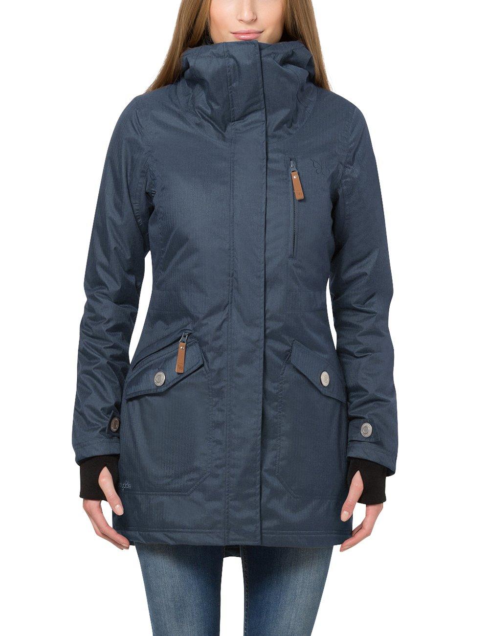 Women's Wind and Waterproof Parka Jacket