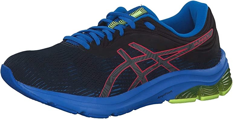 Asics Gel-Pulse 11 LS 1011A645-001, Hombre, Negro Black 1011a645 001, 42.5 EU: Amazon.es: Zapatos y complementos