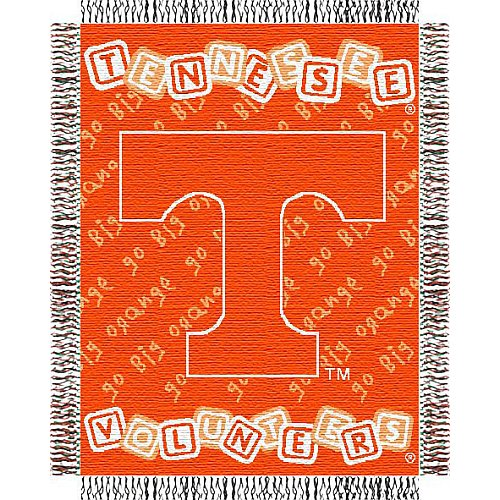Tennessee Volunteers 36x48 Baby Blanket / (Baby Triple Woven Blanket)