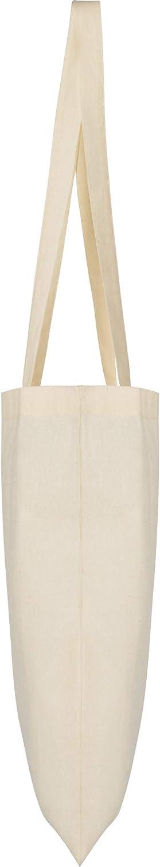 Bolsa para la Compra | 10 Unidades | Algodón en Color Natural | Reutilizable: Amazon.es: Hogar