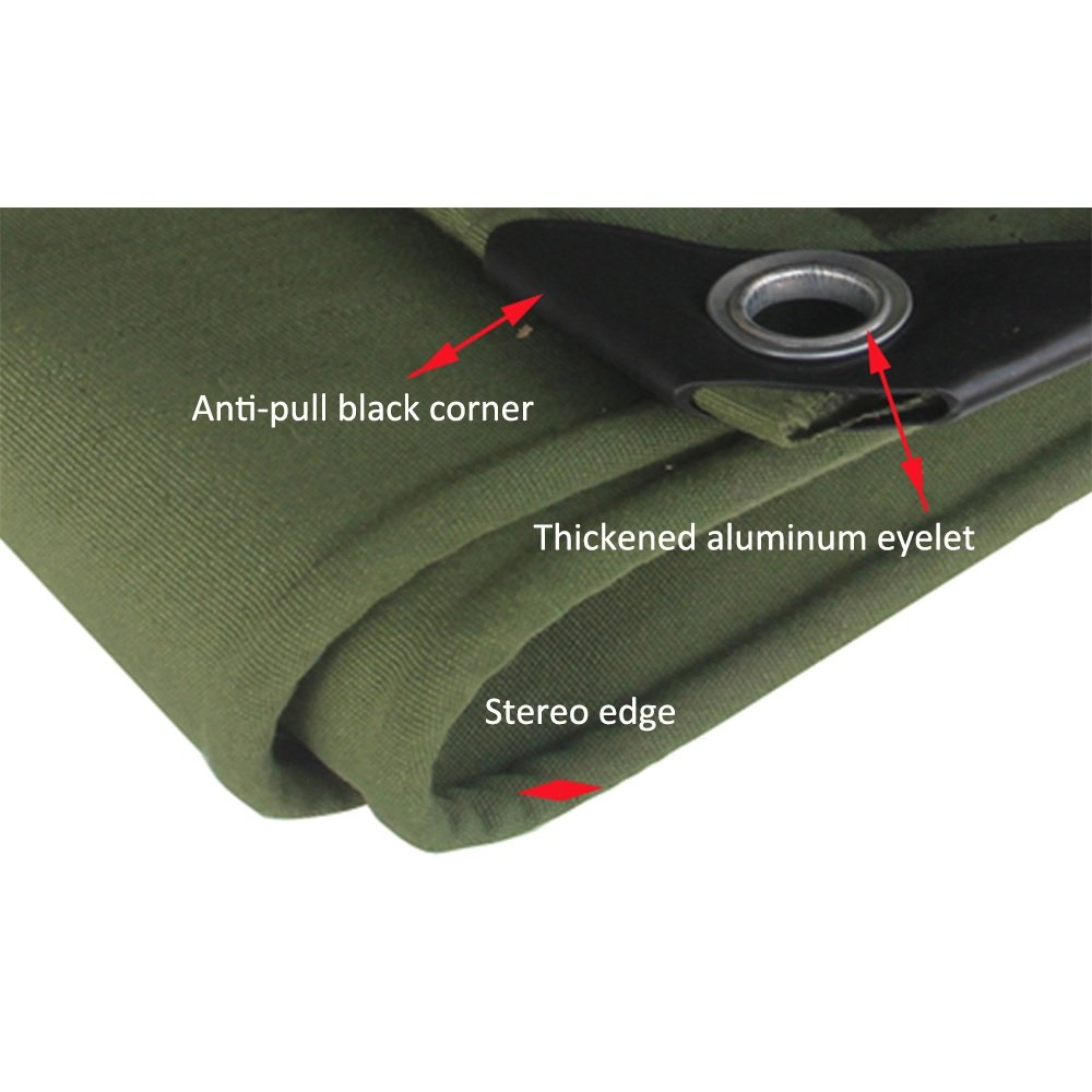 DNSJB Tarpaulin Multipurpose Wagon Tent Cover Outdoor Sunshade Waterproof (Size : 56m) by SJB (Image #4)