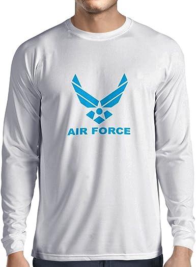 lepni.me Camiseta de Manga Larga para Hombre United States Air Force (USAF) - U. S. Army, USA Armed Forces: Amazon.es: Ropa y accesorios