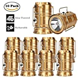 GT-ROAD-Solar-Led-Camping-Lantern-Flashlight-Rechargeable2Pack4Pack6Pack10Pack
