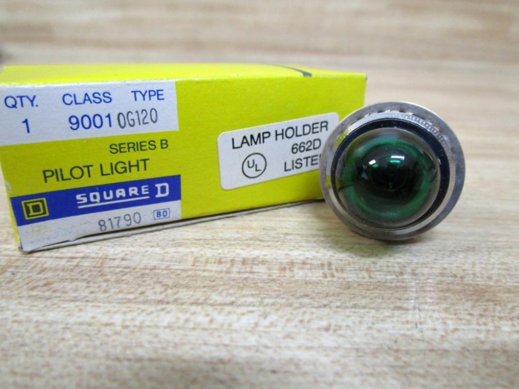 Square D 9001 OG120 Pilot Light 9001 0G120