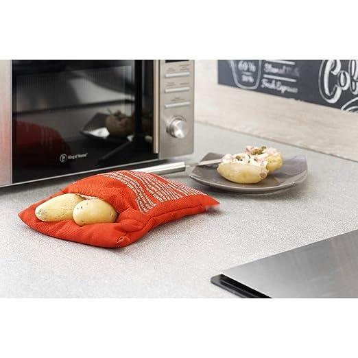 Artlalic G030 - Bolsa de Cocina Lavable para microondas y Patatas ...