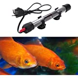 Submersible Heating for Aquarium Heating Bar Heater Stainless Steel Fish Tank Automatic Temperature Explosion Proof for Fish Tank