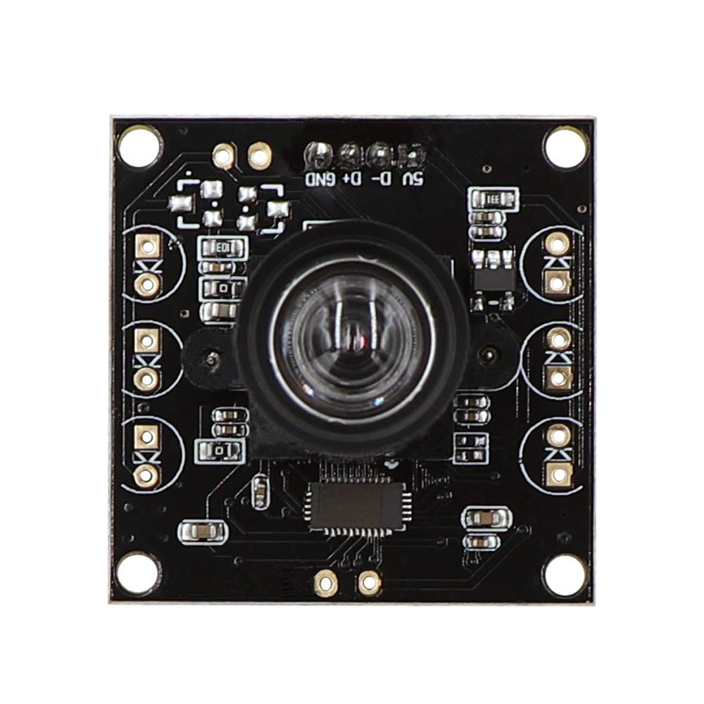 Non Distortion 2Megapixel Full HD 1080P OV2710 High Speed 120fps Webcam OTG UVC USB Camera Module for Android Linux Windows