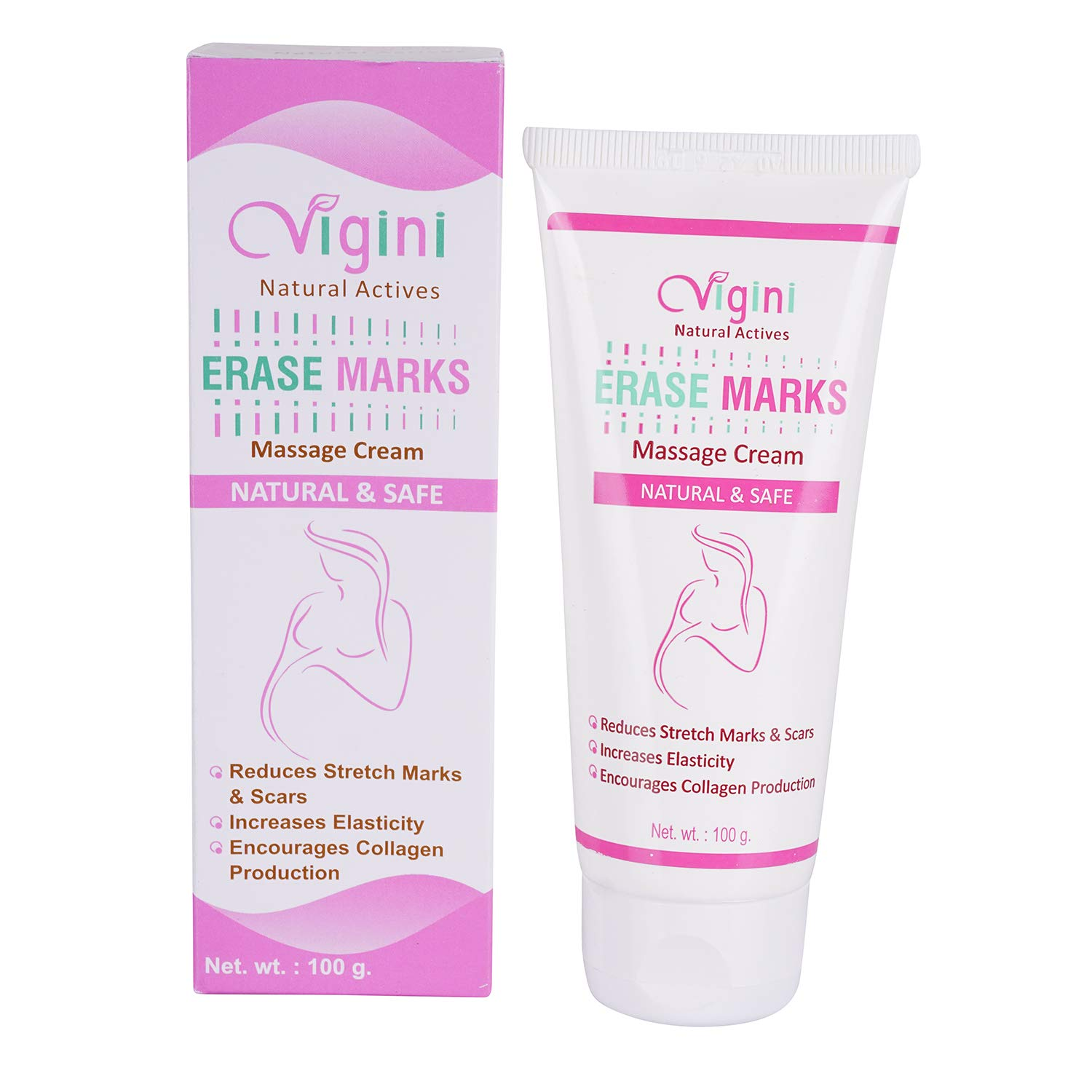 Vigini 100 Natural Actives Stretch Marks Scar Removal Cream Oil
