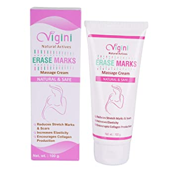 Vigini 100 Natural Actives Stretch Marks Scar Removal Cream Oil In During After Pregnancy Delivery Women Organic