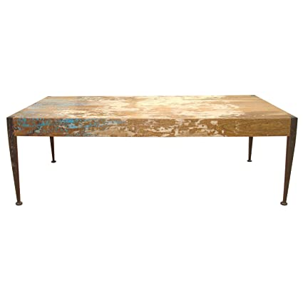 Moeu0027s Home Collection Astoria Mango Wood Coffee Table, Distressed