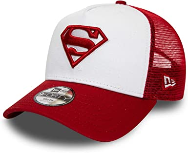 New Era Gorra A-Frame Superman Kids TruckerEra Camionero de niño ...