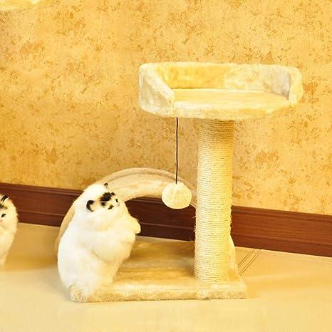 Axiba Árbol para Gatos,Gato subiendo Marco Gato Salto Espada Cuerda Gato árbol Gato agarra