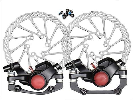 LYzpf Bicicleta Freno Mecánico Aleación de Aluminio Frenos de ...