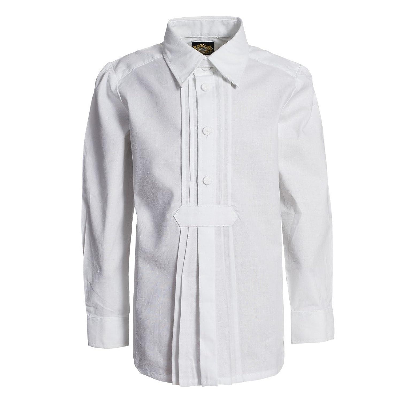 Trachtenhemd für Kinder in Weiß von Hammerschmid