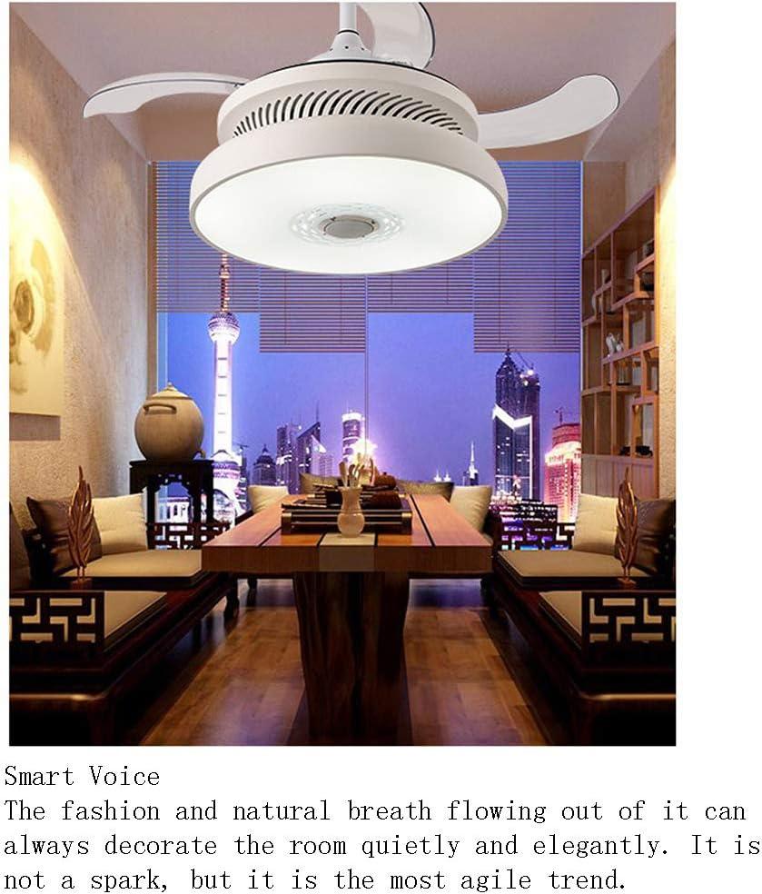 SUNSHIN Ventilador de Techo de iluminación Inteligente con máquina ...