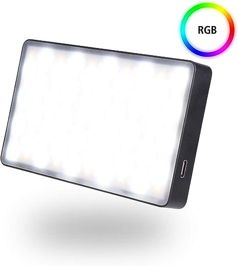 Rollei Lumen Pocket RGB LED Photo Light I 12W LED Video Light en ...