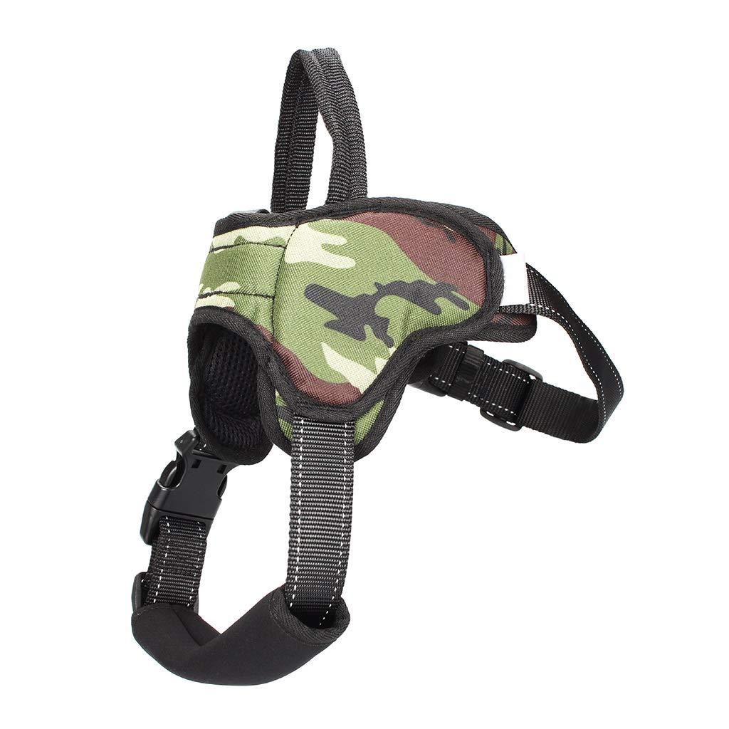 Green XL Green XL GWM Leashes Pet Harness, Chest Belt, Vest, Medium Dog, Large Dog, Explosion Proof,Refletive, Dog Harness (color   Green, Size   XL)