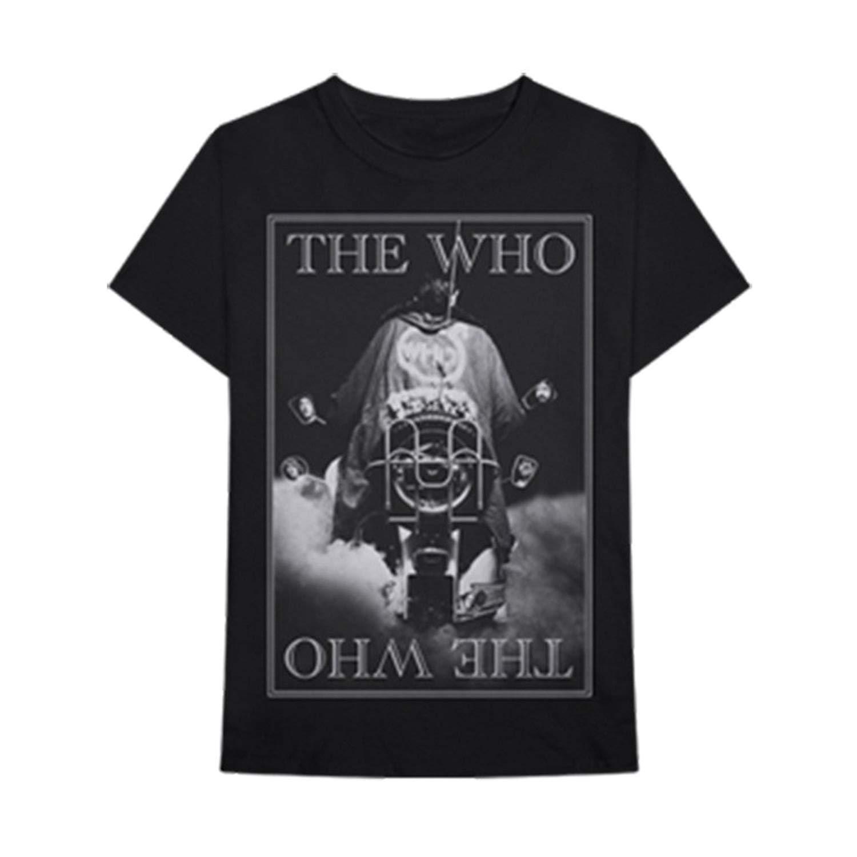 Bravado  The Who Band Black White Photo Quadrophenia Adult T-Shirt-XL