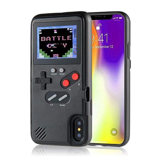 Amazon.com: KOBWA Gameboy - Funda para iPhone, diseño retro ...