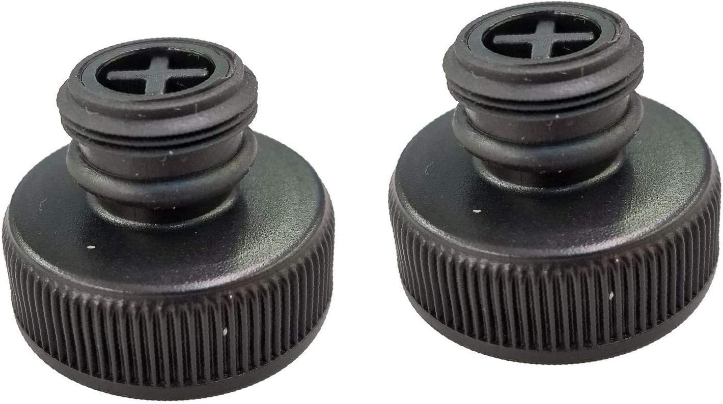 Replacement for Bissell Cap and Insert Assembly 2 Pack, for Powerfresh Steam Mops, 2038413